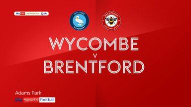 Wycombe 0-0 Brentford