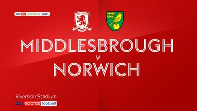 Middlesbrough 0-1 Norwich