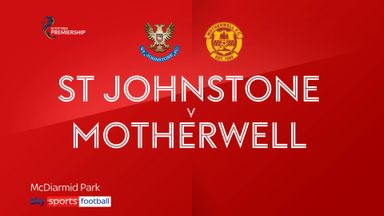 St Johnstone 1-1 Motherwell