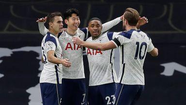 HT Tottenham 1-0 Manchester City