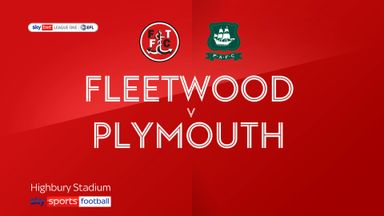 Fleetwood 5-1 Plymouth