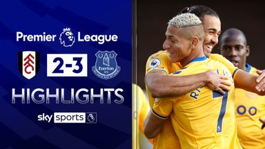Calvert-Lewin scores twice in Everton win