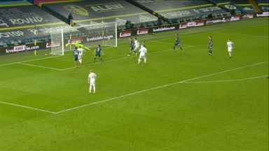 Bamford hits post late-on! (87)