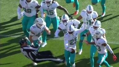 Official run down in Dolphins stampede
