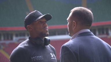 Lack of fans 'worrying' for AJ vs Pulev