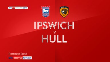 Ipswich 0-3 Hull