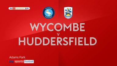 Wycombe 0-0 Huddersfield