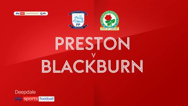 Preston 0-3 Blackburn