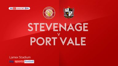 Stevenage 2-1 Port Vale