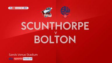 Scunthorpe 0-1 Bolton