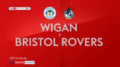 Wigan 0-0 Bristol Rovers