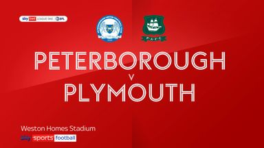 Peterborough 1-0 Plymouth