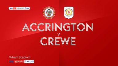 Accrington 1-0 Crewe