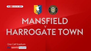 Mansfield 0-1 Harrogate Town