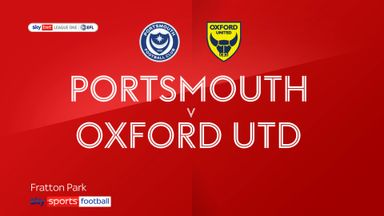 Portsmouth 1-1 Oxford Utd