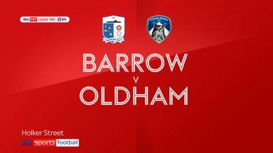 Barrow 3-4 Oldham