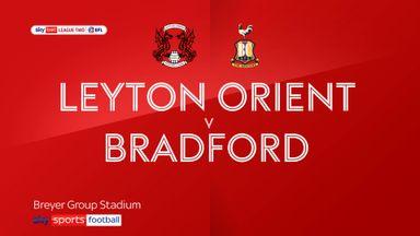 Leyton Orient 1-0 Bradford