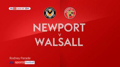 Newport 1-1 Walsall