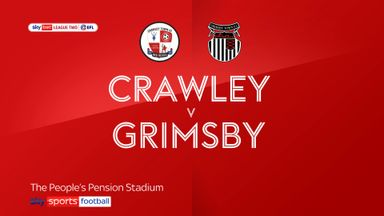 Crawley 1-2 Grimsby