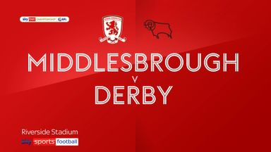 Middlesbrough 3-0 Derby