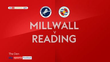 Millwall 1-1 Reading