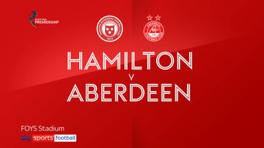Hamilton 1-1 Aberdeen