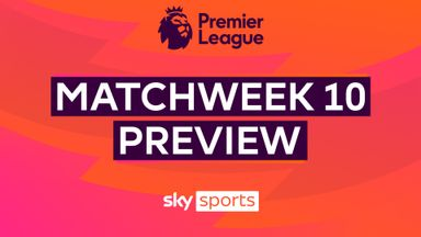 Premier League Matchweek 10 Preview