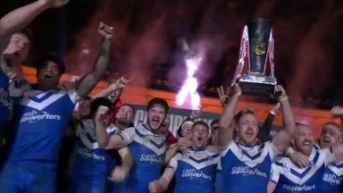 St Helens lift Grand Final trophy