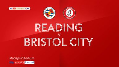 Reading 3-1 Bristol City