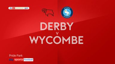 Derby 1-1 Wycombe