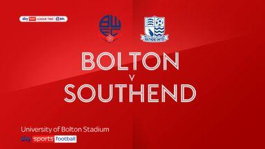 Bolton 3-0 Southend