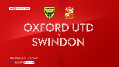 Oxford Utd 1-2 Swindon