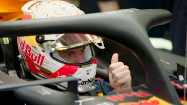 Verstappen enjoying variety