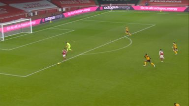 Aubameyang shot blocked (73)