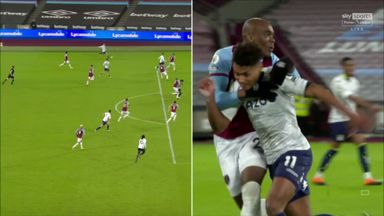 Did VAR miss a foul on Watkins during offside check?