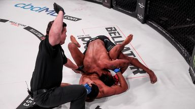 McKee goes 17-0 with unbelievable submission
