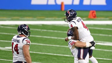 Watson stars in Texans win