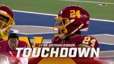 Gibson scores hat-trick of touchdowns