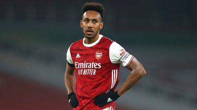 Arteta backs Auba to rediscover form