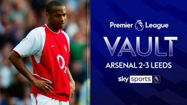 PL Vault: Arsenal 2-3 Leeds (2003)