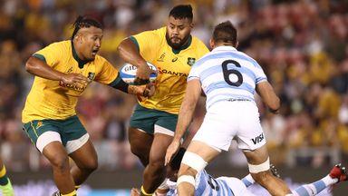 Highlights: Argentina 15-15 Australia