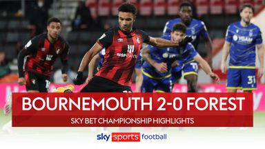 Bournemouth 2-0 Nottingham Forest