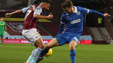 Should Villa have had a penalty?
