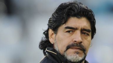 'Maradona the greatest of all time'