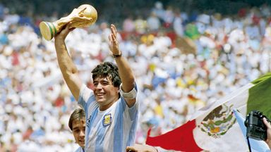 'World Cup 86 Maradona's defining moment'