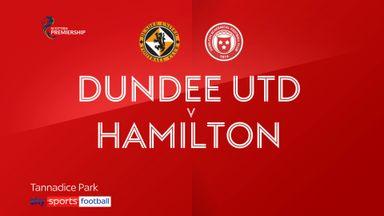 Dundee Utd 2-1 Hamilton