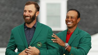 DJ presented with Green Jacket