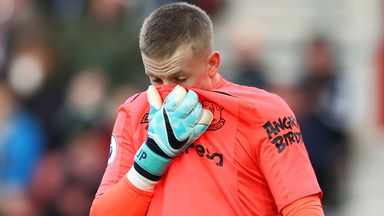 'Pickford will start against Man Utd'