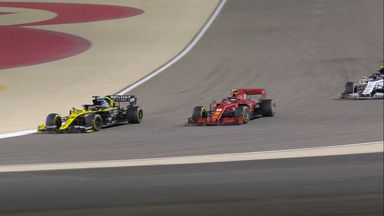 Sainz, Ricciardo ahead of Leclerc