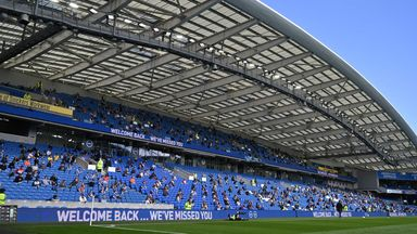 Brighton all set for fans return